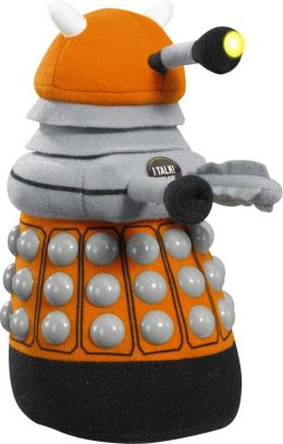 Doctor Who/Talking Plush/Med (9in)/Dalek (Orange)