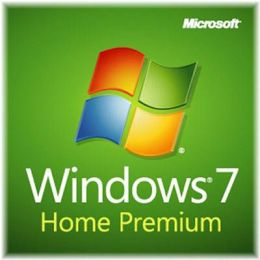 Microsoft Windows 7 Home Premium 64BIT Operating System Software - OEM