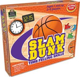 Slam Dunk: Time-Telling Skills Game