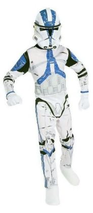 Star Wars Clone Trooper Child Costume: Size Medium (8-10)