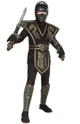 Ancient Dynasty Ninja Child Costume: Size Medium (8-10)