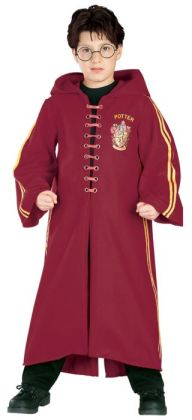 Harry Potter  Quidditch Robe Super Deluxe Child Costume: Size Medium