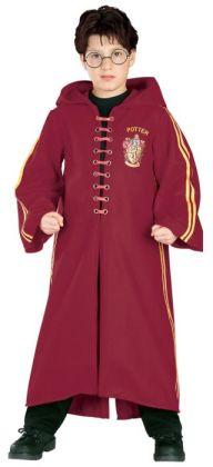 Harry Potter  Quidditch Robe Super Deluxe Child Costume: Size Medium