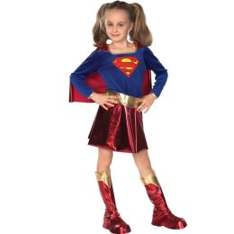 DC Comics Supergirl Child Costume: Size Small
