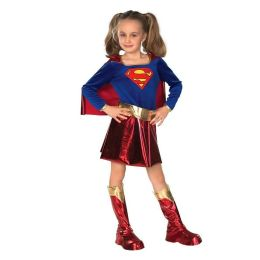 DC Comics Supergirl  Child Costume: Size Large