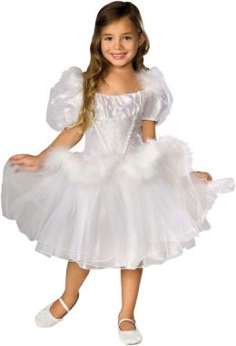 Swan Lake Ballerina Musical Toddler / Child Costume
