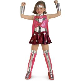Pink Wonder Woman Child Costume: Size X-Small (2-4)