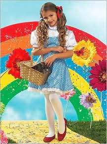 The Wizard of Oz Dorothy Child Costume: Size Medium (8-10)