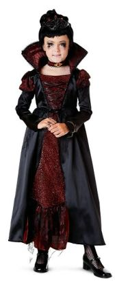Transylvanian Vampiress Child Costume: Size Small (4-6)