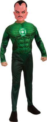 Green Lantern - Sinestro Muscle Child Costume: Large