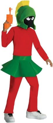 Marvin the Martian Child Costume: Medium
