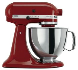 KitchenAid KSM150PSGC Artisan Series 5-Quart Tilt-Head Stand Mixer - Gloss Cinnamon