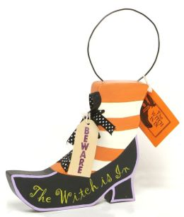 The Witch Shoe Door Hanger Sign 6