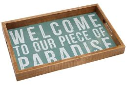 Welcome to Our Paradise Tray 15