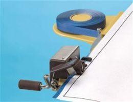 Alvin 121BL Threaded Edging Tape-blue