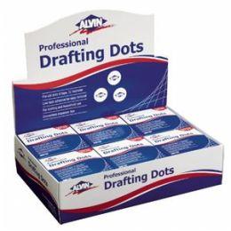 Alvin DM123D Drafting Dots 12 Rolls-disp Bx