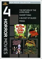 The Return of the Living Dead/Swamp Thing/a Bucket of Blood/Frogs