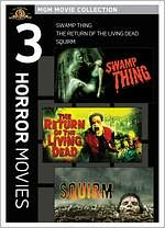 Smamp Thing/the Return of the Living Dead/Squirm