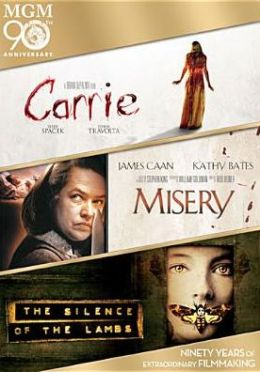 Carrie/Misery/Silence of the Lambs