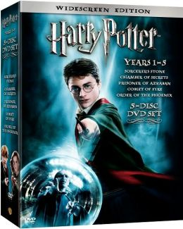 Harry Potter Collection Years 1-5