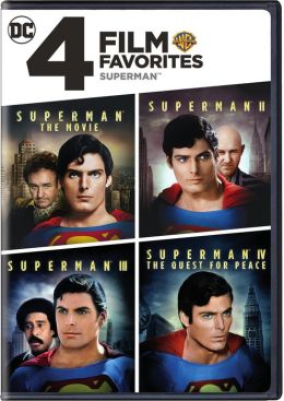 Superman: 4 Film Favorites