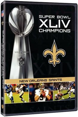 nfl super bowl xliv champions new orleans saints by nfl