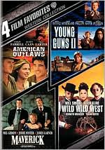 Western Collection: 4 Film Favorites