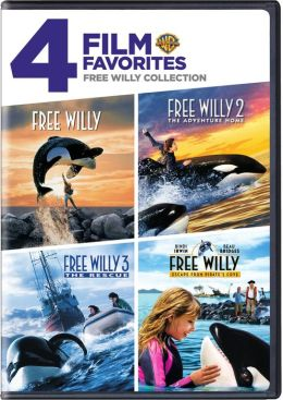 Free Willy Collection: 4 Film Favorites