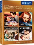 Video/DVD. Title: TCM Greatest Classic Films Legends Collection: Bette Davis