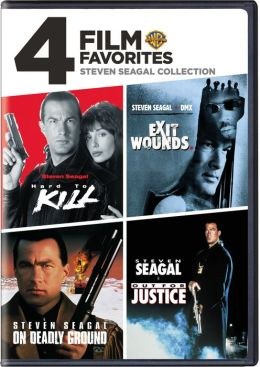 Steven Seagal Collection: 4 Film Favorites