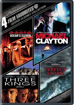 George Clooney Collection: 4 Film Favorites