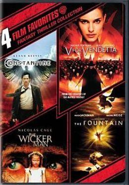 Fantasy Thriller Collection: 4 Film Favorites
