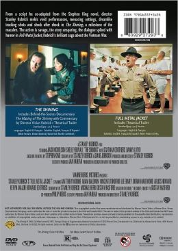Full Metal Jacket/the Shining
