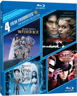 4 Film Favorites: Tim Burton Collection