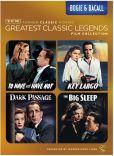 Video/DVD. Title: Tcm Greatest Classic Films: Legends - Bogie & Bacall