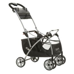 Dorel Juvenile Safety 1st Clic It! Infant Seat Carrier, Black/Silver