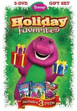 Barney: Holiday Favorites (3pc)