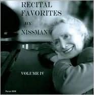 Recital Favorites by Nissman, Vol. 4