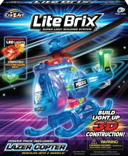 Lite Brix Helicopter
