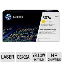 507A YELLOW CARTRIDGE TONER FOR