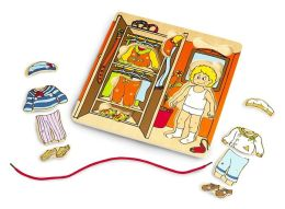 Wonderworld Educational Puzzle - Dressing Yourself