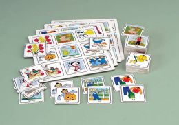 Childcraft Pre-K to K Science Lotto Matching and Memory - 4 Games Set