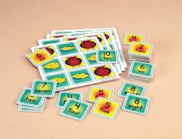 Childcraft Math Lotto Games for Kindergarten - Set of 4