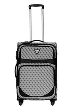Guess S2985945-COA Luxury Road 25 In 4 Wheel Upright Spinner - Coal
