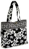 "Product Image. Title: Vera Bradley Night & Day Fabric Book Tote 11.75"" x 13.5"" x 4"""