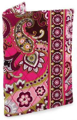 Vera Bradley Very Berry Paisley Fabric Paperback Bookcover (5.5X7.75)