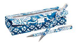 Vera Bradley Blue Lagoon Pen and Pencil Set