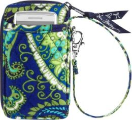 Vera Bradley Rhythm & Blues All in One Wristlet (3x5.25x.75)