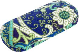 Vera Bradley Rhythm & Blues Hard Eyeglass Case (6