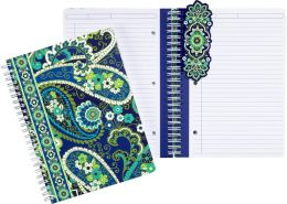 Vera Bradley Rhythm & Blues Spiral Notebook Journal (6x8)